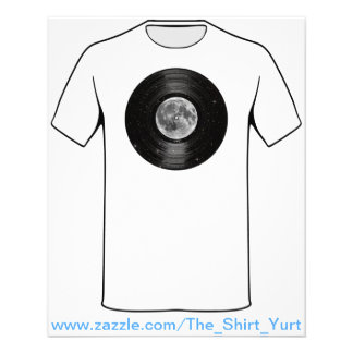 Moon In Space Vinyl LP Record Flyer