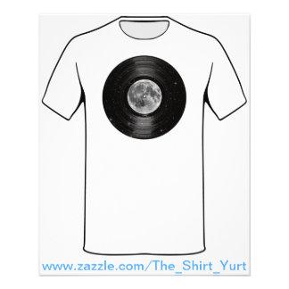 Moon In Space Vinyl LP Record Flyer