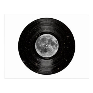 Moon In Space Vinyl LP Record Post Cards