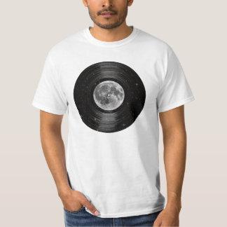 Moon In Space Vinyl LP Record Tee Shirt