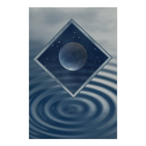 Moon is MAgic Print
