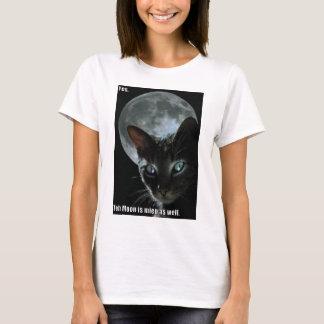 moon is mine lol cat T-Shirt