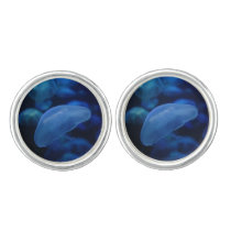 Moon Jellyfish Cufflinks