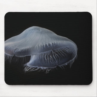 Moon Jellyfish Floating Mouse Pad