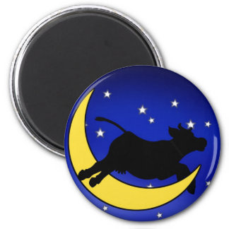 Moon Jumper Fridge Magnet