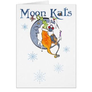 Moon Kat Yule Card