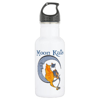 Moon Kats Water Bottle