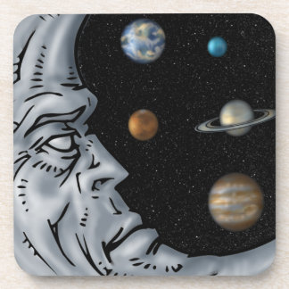 Moon Keeper, Eyes of the Universe Drink Coasters
