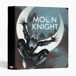 Moon Knight Cover 3 Ring Binder