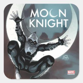 Moon Knight Cover Square Sticker