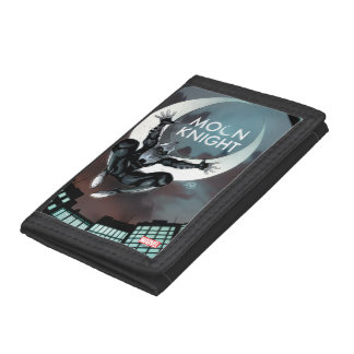 Moon Knight Cover Tri-fold Wallet