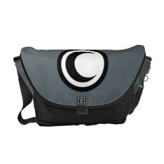 Moon Knight Logo Courier Bag at Zazzle