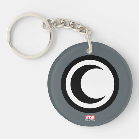 Moon Knight Logo Keychain Zazzle