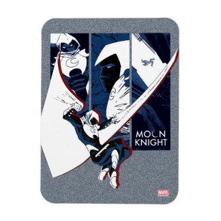 Moon Knight Panels Magnet