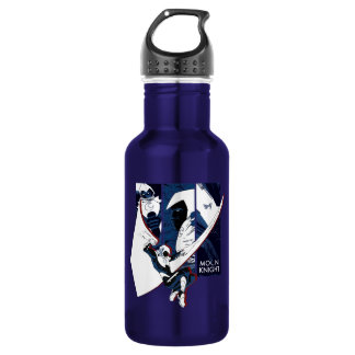 Moon Knight Panels Stainless Steel Water Bottle