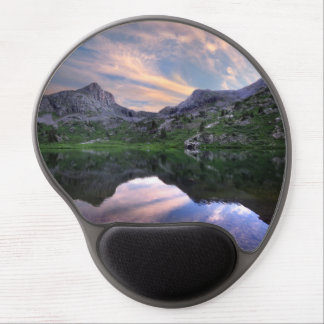 Moon Lake Sunset - Weminuche Wilderness Colorado Gel Mouse Pad