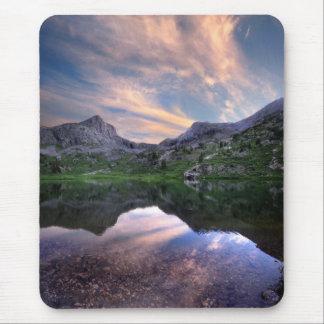 Moon Lake Sunset - Weminuche Wilderness Colorado Mouse Pad