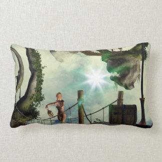 Moon land pillow