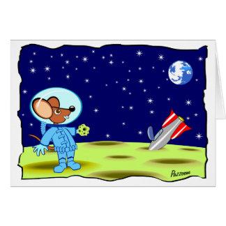 Moon Landing Card