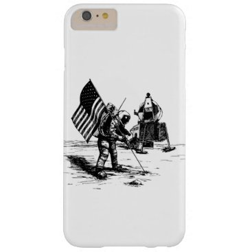 Moon Landing Barely There iPhone 6 Plus Case