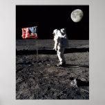 Moon Landing Irony Poster