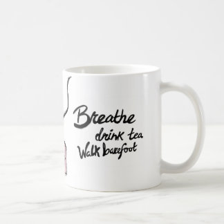 MOON LIGHT- Breathe, Tea, Barefoot Coffee Mug