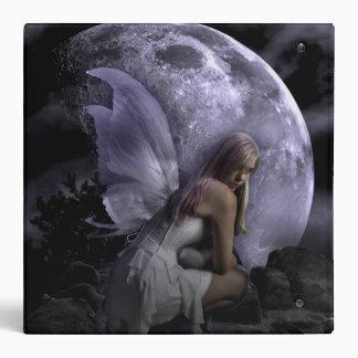 Moon Light Fairy Vinyl Binder