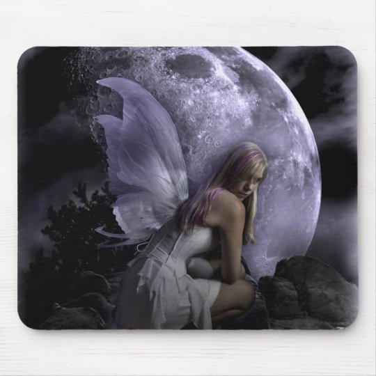 Moon Light Fairy Mouse Pad