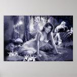 Moon Light Fairy Posters
