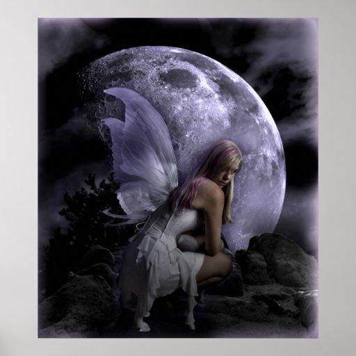 Moon Light Fairy Print