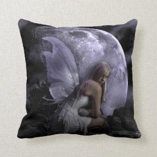 Moon Light Fairy Throw Pillow
