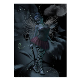 Moon Light Fey - Artist Trading Cards Large Business Card