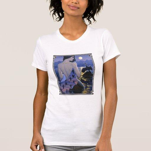 Moon Light Mermaid 2 Tshirt