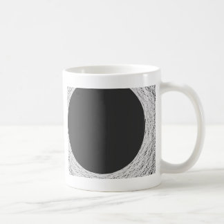 moon light sorounded by mysterious darkness coffee mug