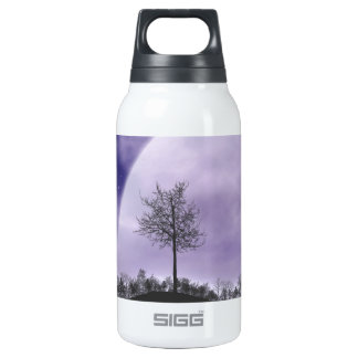 Moon Light Stars Sky Trees Whimsical Personalize Thermos Bottle