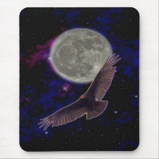 moon Lite Flight Mouse Pad