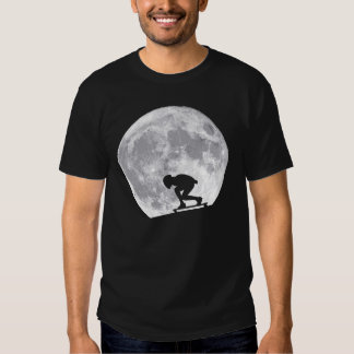 Moon longboarding shirt
