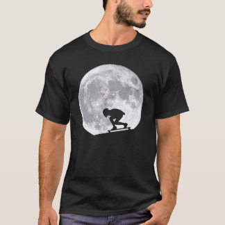 Moon longboarding T-Shirt