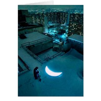 Moon Love Card