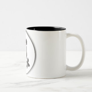 Moon Love Two-Tone Coffee Mug