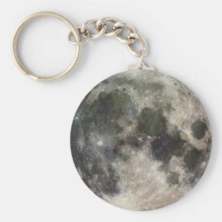 Moon Lunar Surface Photograph Galileo Keychain