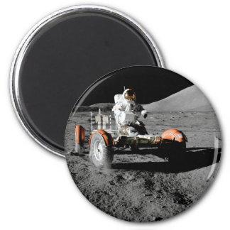 Moon Lunar Vehicle Astronaut Rover Magnet