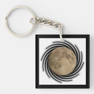 Moon, Lune, Luna, Glina, Moon key supporter Acrylic Key Chain