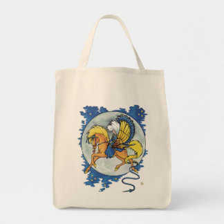 Moon Magic Grocery Tote Bag