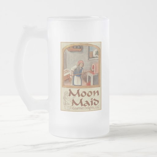 Moon Maid Logo (Copyright) - Frosted Stein Mug #1