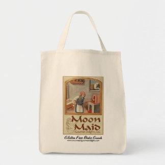 Moon Maid Logo (Copyright) - Shopping Tote Bag #1