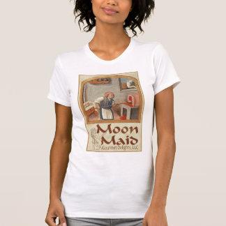 Moon Maid Logo (Copyright) - woman's T-Shirt #1