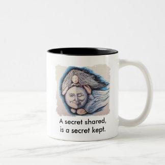 Moon Maiden & Best Friend Two-Tone Coffee Mug