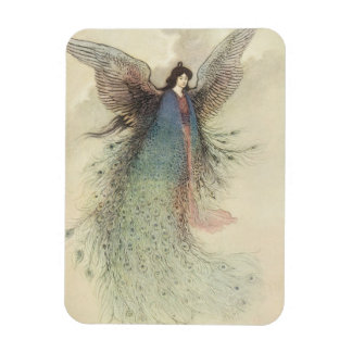 Moon Maiden Japanese Fairy by Warwick Goble Magnet
