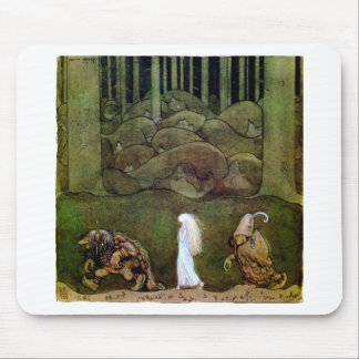 moon maiden mouse pad